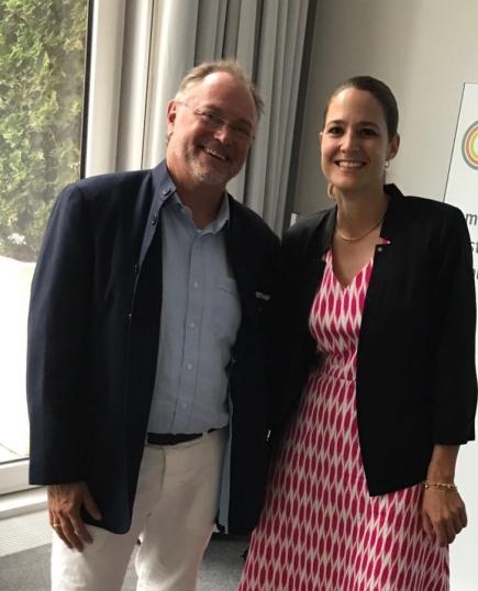 Esther Thahabi und Uwe Jocham