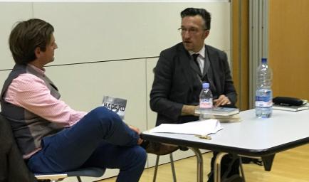 Lukas Bärfuss im Gespräch mit David Wüthrich